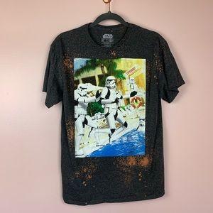 Star Wars Stormtrooper Graphic T-shirt Medium
